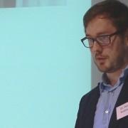 """Dr. Daniel Bultmann bei der Konferenz """"Aghet und Shoah – Das Jahrhundert der Genozide"""" von 8. bis 10. November 2015 in Berlin"""