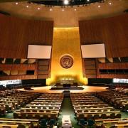 Die Große Halle der Generalversammlung der Vereinten Nationen