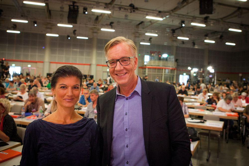 Sahra Wagenknecht und Dietmar Bartsch - Das Spitzenduo von Die Linke im Bundestagswahlkampf 2017. Foto: © Die Linke | Jakob Huber, CC BY 2.0