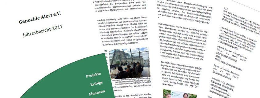 Genocide Alert Jahresbericht 2017