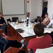 Diskussion im Anschluss an die Jahreshauptversammlung 2018 in Berlin