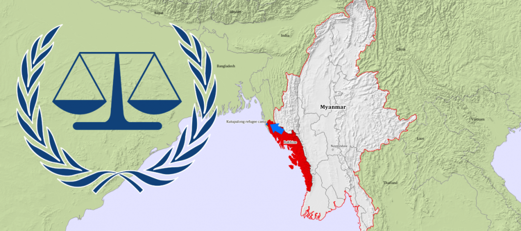 Karte Myanmar.Rohingya And The Icc The Rights Of The Rohingya Genocide Alert