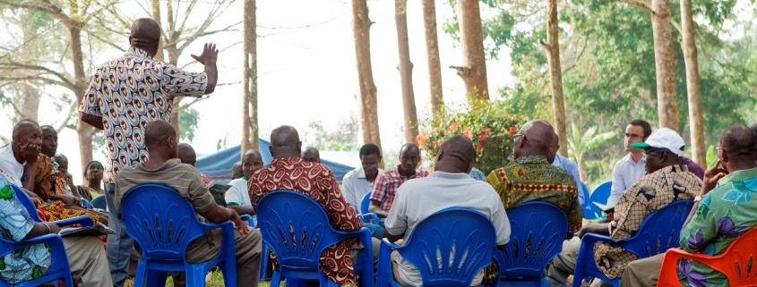 Workshop der Abteilung für Zivilangelegenheiten der UN-Operation in Côte d'Ivoire mit lokalen Führern in Bonoua 2012 (Quelle: UN PHOTO | # 511356)