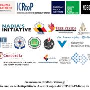 Header - Gemeinsame NGO-Erklärung: Humanitäre und sicherheitspolitische Auswirkungen der COVID-19-Krise im Nordirak