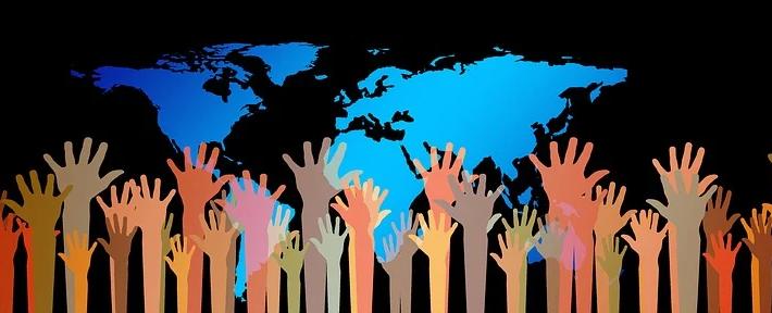 World together Symbolfoto (Pixabay | free to use)
